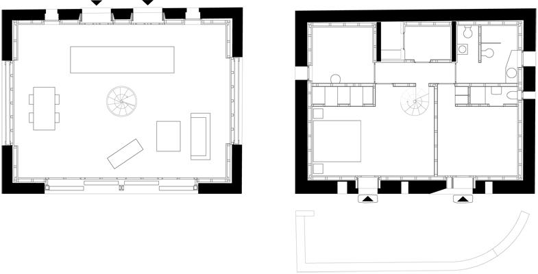 Studio meyer piattini progetti for Progetti di piani di studio